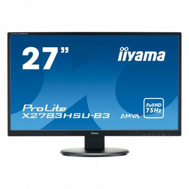"X2783HSU-B3 - 27"" AMVA+/4ms/FHD/HDMI/DP/USB | Iiyama"