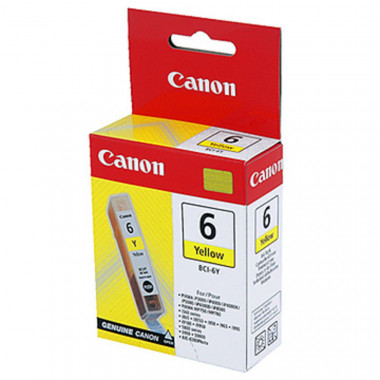 Cartouche BCI 6 Y - 4708A002 | Canon