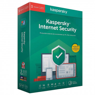 Internet Security - 1 An / 3 PC | Kaspersky