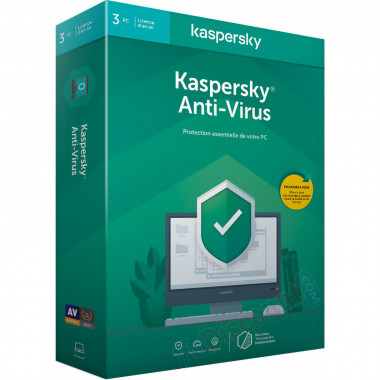 Antivirus - 1 An / 3 PC | Kaspersky
