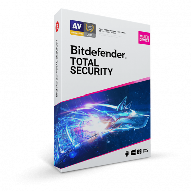 Total Security Multi-Device - 2 Ans / 10 App. | Bitdefender