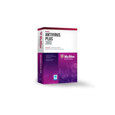 Anti-Virus PLUS - 1 An / 1 PC   McAfee