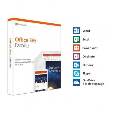 Office 365 Home 1 An / Jusqu'à 6 utilisateurs | Microsoft