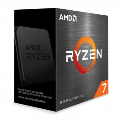 Ryzen 7 5800X - 4.7GHz/36Mo/AM4/Ss Vent./BOX | AMD