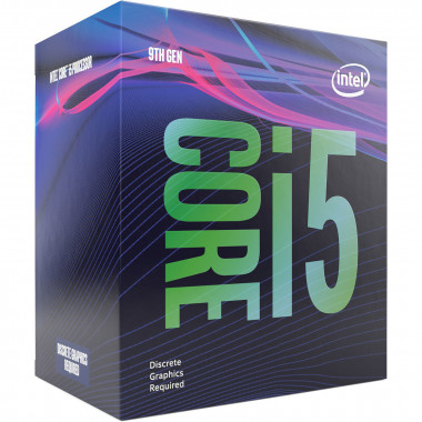 Core i5-9500F - 3GHz/9Mo/LGA1151(2017)/BOX | Intel