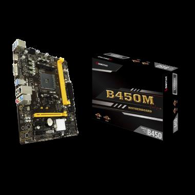 B450MH - B450/AM4/mATX | Biostar