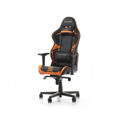 Racing Pro R131-NO - Noir/Orange/Simili Cuir/4D | DXRacer