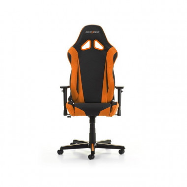 Racing R0-NO - Noir/Orange/Simili Cuir/3D | DXRacer