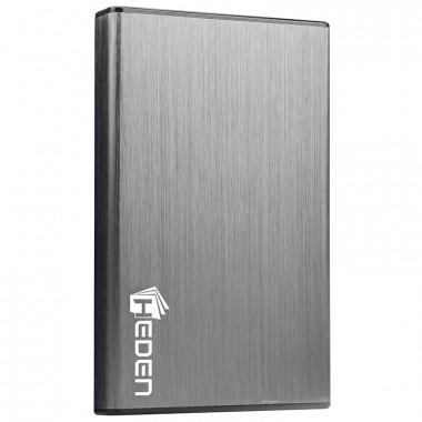 USB3.0 pour DD 2'1/2 SATA Alu brossé - BEM25MUA2C9 | Heden
