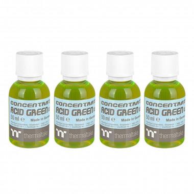 Liquide Prem. Concentrate Acid Green (UV) 4 x 50ml | Thermaltake