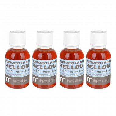 Liquide Tt Premium Concentrate Yellow 4 x 50ml | Thermaltake