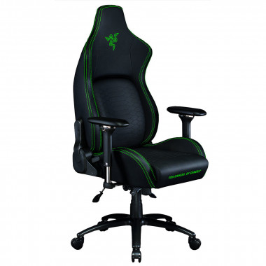 Iskur - Noir/Vert/Simili Cuir/4D | Razer