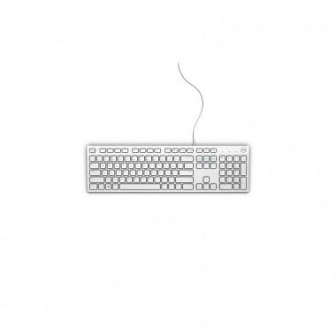 Dell KB216 - Clavier Français Blanc multimédia