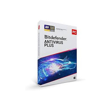 Antivirus Plus - 1 An / 1 PC | Bitdefender