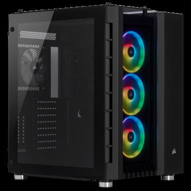 Crystal 680X Black CC-9011168-WW - MT/ATX | Corsair