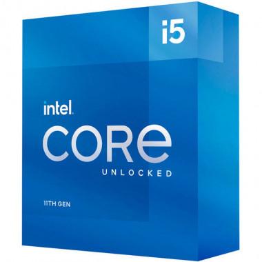 Core i5-11600K - 3.8GHz/12Mo/LGA1200/Ss Vent./BOX | Intel