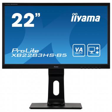 "XB2283HS-B5 - 21.5"" VA/4ms/FHD/HDMI/DP/HP | Iiyama"