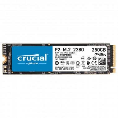 250Go M.2 NVMe - CT250P2SSD8 - P2 | Crucial