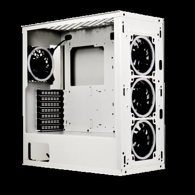 MR-PLW1 Porte latérale métal blanc pour MR-005 | M.RED